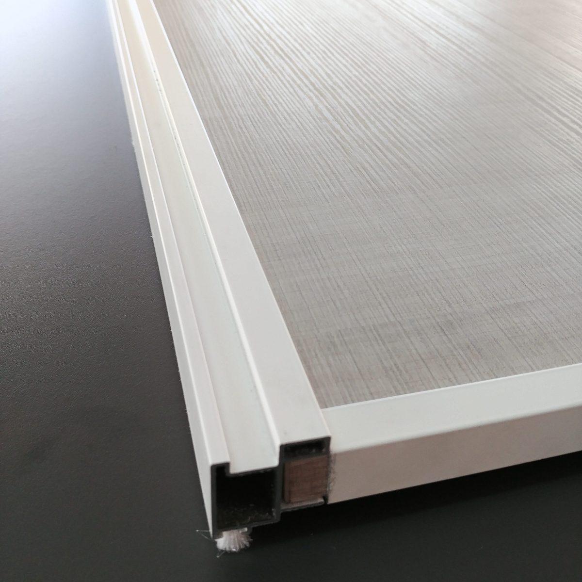 Kit puerta corredera armario taringa blanco g80 cat logo - Kits puertas correderas armarios ...