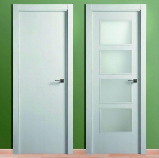 Puerta Lacada Blanca Lisa