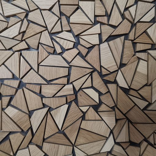 Panelado Mosaico Madera Amsterdam