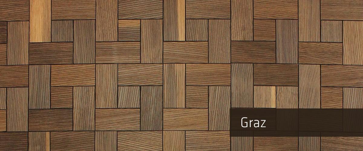 Panelado Madera Mosaico Graz