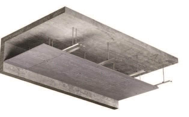 Panel Viroc utilizado en Falso Techo
