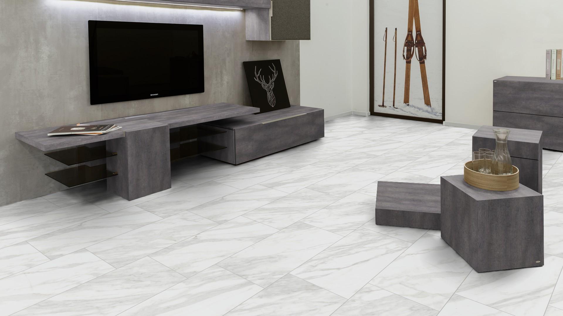 Suelo Vinilico Kaindl Solid Pro Marmol Milano S313